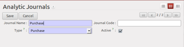 Form Analytic Journal