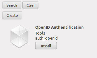 Install Modul auth_openid