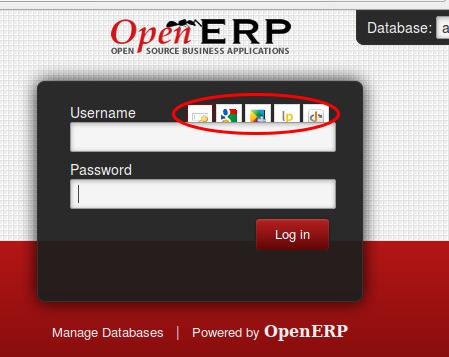 Tambahan tombol login dengan openid